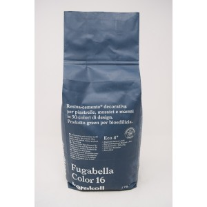 Fugabella Color 16 Resina Cemento Decorativa 3kg